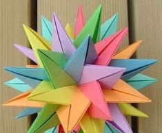 how to make paper flower balls #instructables #diy