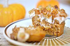 Vegan Pumpkin Spiced Cupcakes