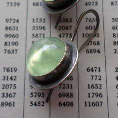 Hey, I found this really awesome Etsy listing at https://www.etsy.com/listing/192105656/prehnite-sterling-silver-earrings
