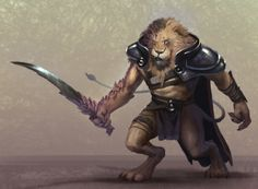 Lion Dude by Marius Bota