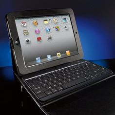 Bluetooth  Keyboard with Portfolio Case for iPad   3rd generation  and iPad 2 Tablets
