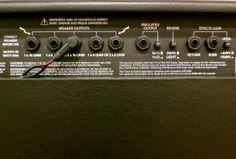 Blackstar HT Metal 60 – back panel 1