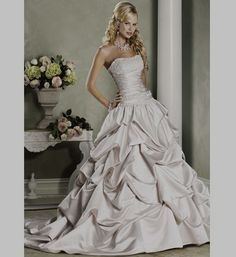 Customized Wedding Dresses if you want more. But all this needs is a better white.