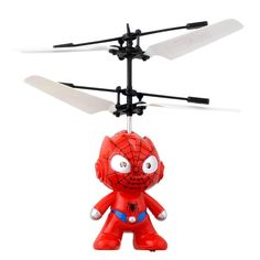 2016 Hot Sale Small SpiderMan RC Helicopter Aircraft Flying Induction Helicopter Kid Toys For Children Gift #tech #rc #rchelicopter