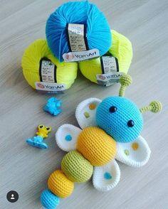 979 Likes, 14 Kommentare - ilmek joyeux (neselilmekler) on Inst - Szydelko - Amigurumi Hints Crochet Baby Toys, Crochet Patterns Amigurumi, Crochet For Kids, Crochet Animals, Crochet Dolls, Baby Knitting, Crochet Crafts, Crochet Projects, Confection Au Crochet