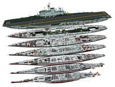 HMS Ark Royal (cutaway below 4 deck)