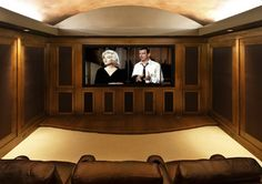 Gentleman's Pub - traditional - media room - portland - by Garrison Hullinger Interior Design Inc.