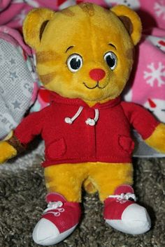 Daniel Tiger Miniature Plush #DanielTigerToys (sponsored)