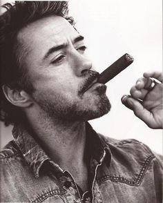 love his roughness! Mr Downey