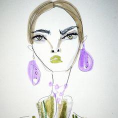 「 Lips at Prada 」