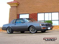 """Frankie's '86 Regal T-Type has a LSX 454 and Speedtech Performance's """"Track Time"""" suspension package. Wheel corners consist of 6 piston 14-inch """"Speedtech"""" logo Baer Brakes and Falken Azenis RT615K tires wrapped around 18-inch Forgeline RB3C wheels finished with Titanium centers and Brushed outers. See more at: http://www.forgeline.com/customer_gallery_view.php?cvk=1373  #Forgeline #RB3C #notjustanotherprettywheel #madeinUSA #Buick #Regal"""