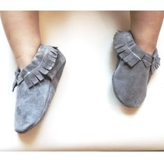 These soft soled shoes offer plenty of wiggle room in the toe box of your child's foot to develop without restriction. And the elastic opening allows flexibility for the shoe to grow with your child yet keep the shoe on your child's feet.This Moc is made out of genuine leather!!! It is 100% leather:)Limited supply!! These will come and go as I find good quality leather! Orders will take 1-2 weeks to ship.**surface wash only