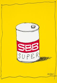 SBB Super by Herbert Leupin (1978) | Shop original vintage posters online: www.internationalposter.com