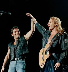 Sting's concert, Madison Square Garden on Aug. 25, 1988. Bruce performed The River.