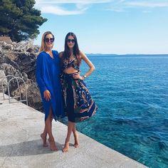 Girls just wanna have SUN ☉👭 #summer #sun #croatia #sea #peljesac