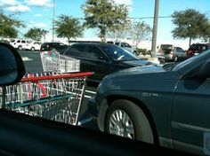 Return your shopping carts, you lazy bums!!