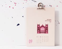 New York City 2015 Calendar on Behance