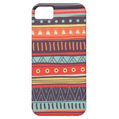 Aztec iPhone Case Colorful Tribal pattern iPhone 5/5S Covers