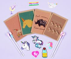 #unicorn #cute #note #szputnyikshop Cute Notebooks, Booklet, Unicorn, Cute Animals, Funny Quotes, Notes, Cartoon, Collection, Pretty Animals