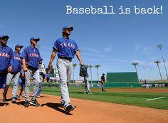 Baseball is back.. <3