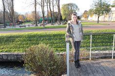 Parka femme avec capuche et fourrure www.modeandshop.fr
