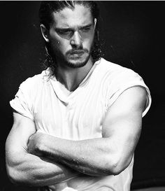 Game Of Thrones Jon Snow (Kit Harington) Kit Harrington, Beautiful Boys, Gorgeous Men, Jon Schnee, Iwan Rheon, John Snow, King In The North, Perfect Boy, Avan Jogia