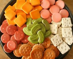 Deli Tray COOKIE Platter for Superbowl. Yes, these are cookies. Incredible!!!