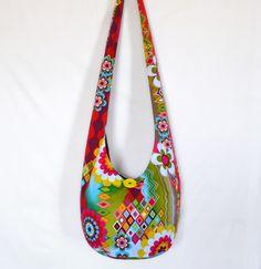 Crossbody Bag Hobo Bag Sling Bag Hippie Bag Hobo by 2LeftHandz