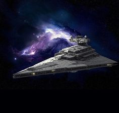 Imperial Star destroyer...