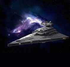 Imperial Star destroyer... Dark Maul, Star Wars Ships, Star Wars Art, Star Trek, Nave Star Wars, Space Movies, Star Wars Spaceships, Star Wars Vehicles, Star Wars Concept Art
