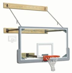 Basketball System Wall Mount - Gared Sports 2350-2034 3-Point Mount 2-3 ft. Extension