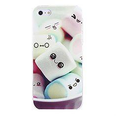 NightKid custodia Carino cotton candy in silicone morbido (iPhone 4/4S iPhone 6S iPhone 6 Plus iPhone 6 iPhone 5C iPhone 5/5S )(iPhone 5C,Verde)