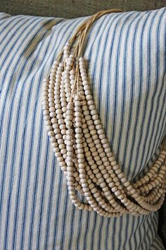 Wooden Bead Necklace from Target, Shared by * Jenni Bowlin *@Janet Smith Merchantile