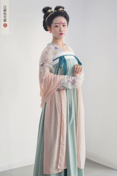 hanfu gallery (Traditional Chinese hanfu. Tang dynasty ruqun in...)