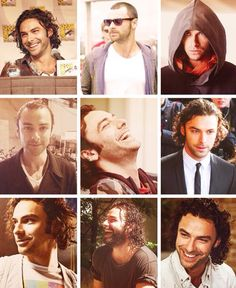 The many faces of Aidan Turner
