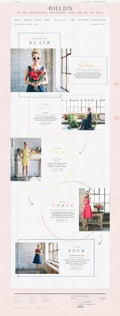 Elysse Ricci Más beautiful and simple feminine website design: http://www.elyssericci.com/