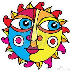 Big eye sun simple hand drawing color stock vector - illustration of Mermaid Tail Drawing, Sun Drawing, Drawing Sketches, Big Blue Eyes, Big Eyes, Good Day Sunshine, Hello Sunshine, Sun Designs, Sun Moon Stars