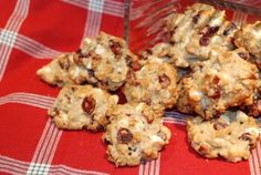 Cranberry Oatmeal White Chocolate Chip Cookies