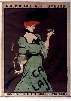 Indispensable aux fumeurs cachou Lajaunie : [affiche] / [Leonetto Cappiello]