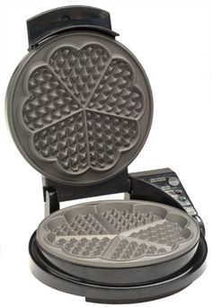 choice of Cara of Home Health Happiness ... the one nonstick item she allows in her kitchen. Chef's Choice 830 WafflePro Heart Waffle Iron Chef's Choice,http://www.amazon.com/dp/B00004RKG0/ref=cm_sw_r_pi_dp_j2MKsb0360RGXF5P