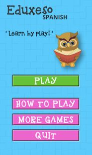 Play memory matching game and learn spanish language.