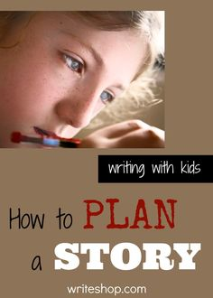How to plan a story
