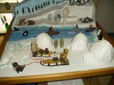 Schleich Tiere Diorama Nord Südpol