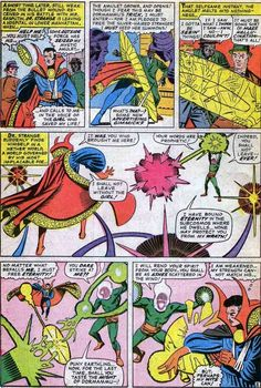 During the early 1960s, there were a few different artists working at Marvel Comics, but really, it was Jack Kirby and it was Steve Ditko. They were routinely taking fairly mundane science fiction and fantasy stories and giving them a lot more panache than they deserved (like our latest Silver Age Christmas story!).  When Stan Lee slowly turned the company into a superhero comic book company again, Kirby and Ditko were given the chance to tell long form stories for the first time in years…