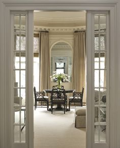 Lewis Interiors is a Boston-based interior design firm founded in 1997 and it's known for the elegant and classic style they bring to their clients' house - . Classic House, Decor, House Styles, House Design, Boston Interiors, Townhouse, Interior Design, Home Decor, House Interior