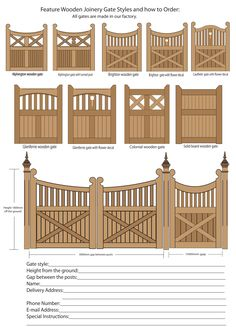 Wood Gate Designs