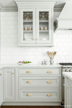 French Gray Cabinetry