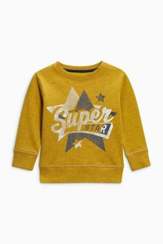 Buy Ochre Superstar Crew Neck Top (3mths-6yrs) online today at Next: United States of America