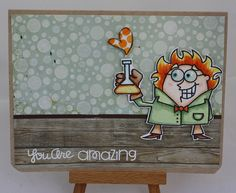 Paper Smooches - Great Chemistry by Frozenstamper, via Flickr