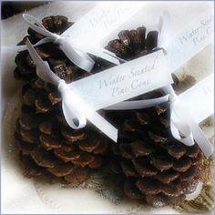 pine cone favor